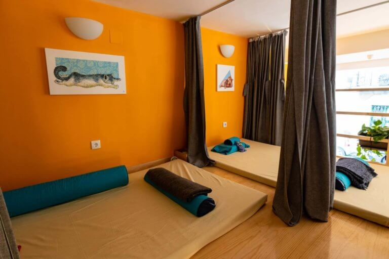 our massage relax room lisbon